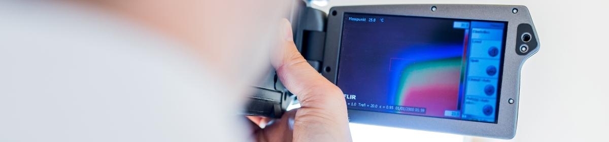 IB-Zauner Thermokamera Waermebildaufnahme